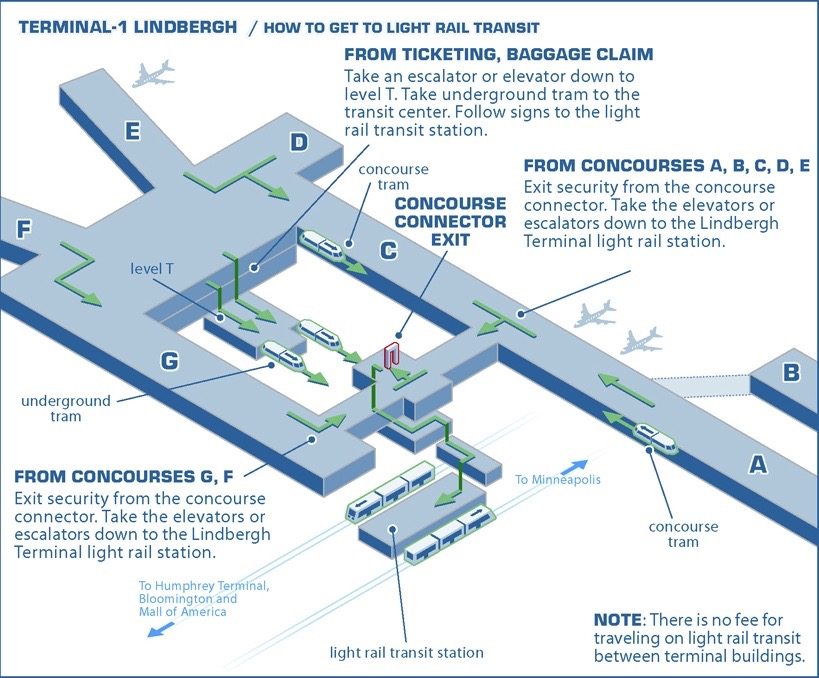 travel and accomodations : msp airport diagram - findchart.co